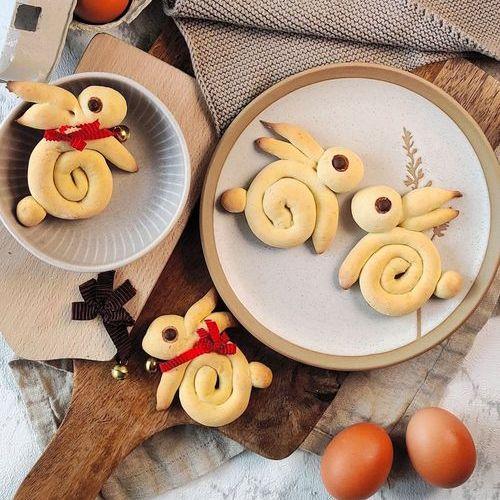 Hefe-Häschen zu Ostern