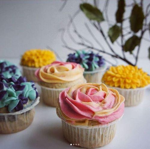 Cupcake Blumenstrauß