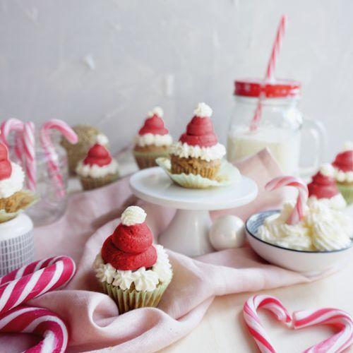 Mini Spekulatius Cupcakes