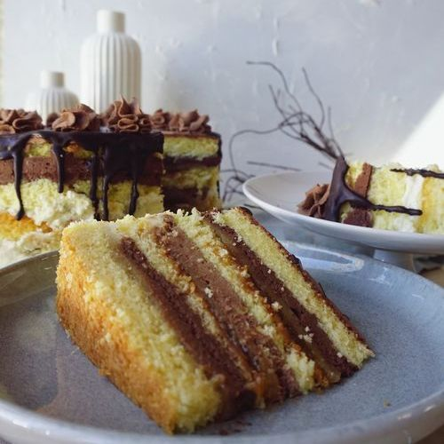 Schoko-Marzipan-Torte