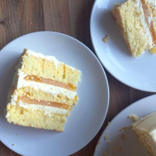 Maracuja-Zitrone-Torte