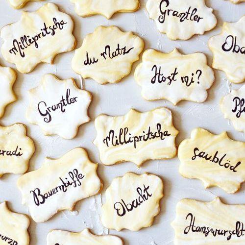 Fluch- und Schimpf-Kekse mit Royal Icing