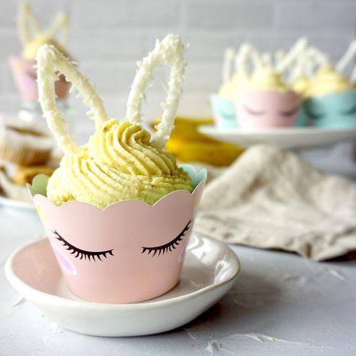 Häschen-Cupcakes mit Banane