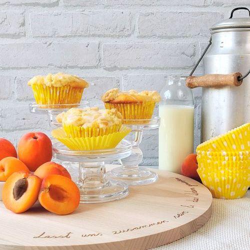 Aprikosenmuffins mit Streusel